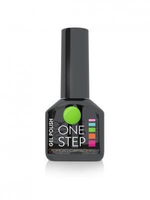 Однофазный гель-лак One Step №60, 6 мл GIORGIO CAPACHINI. Цвет: салатовый