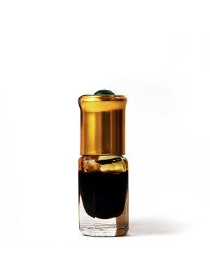 Концентрированное парфюмерное масло Зейтун №6 Чёрный Мускус, 2 мл рол-он. Цвет: темно-коричневый