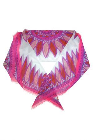 Платок Fabretti. Цвет: розовый