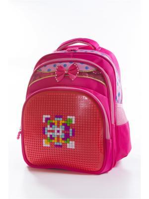 Рюкзак Vittorio Richi. Цвет: красный, розовый