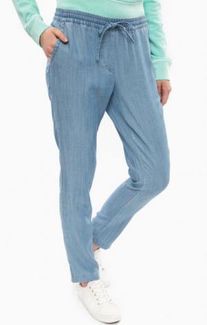 Зауженные джинсовые брюки Gant. Цвет: синий