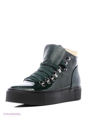 Ботинки Daze. Цвет: темно-зеленый