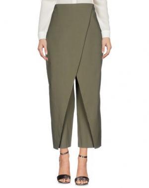 Повседневные брюки ANNIE P.. Цвет: зеленый-милитари