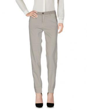 Повседневные брюки AERONAUTICA MILITARE. Цвет: серый
