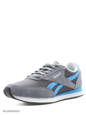 Кроссовки Reebok Royal Cl Jog. Цвет: серый, черный, синий