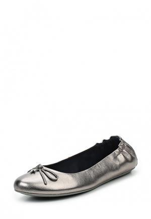 Балетки Tommy Hilfiger. Цвет: серебряный