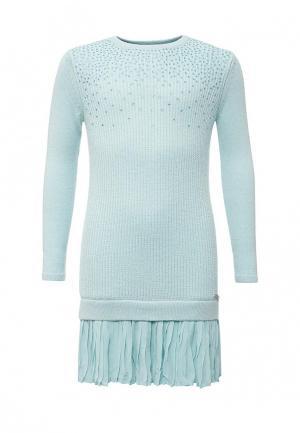 Платье Guess. Цвет: голубой
