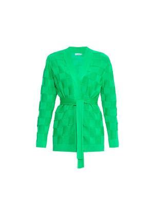 Кардиган Smart Casual Wooly's. Цвет: зеленый