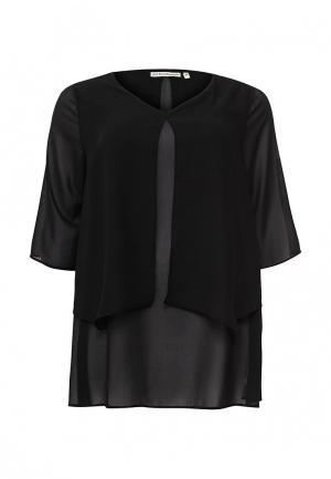 Туника Emoi Size Plus. Цвет: черный