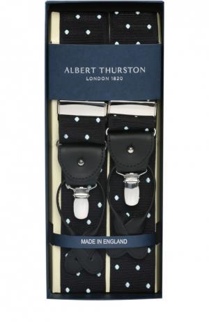 Подтяжки Albert Thurston. Цвет: черный