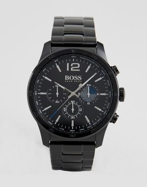 BOSS Черные наручные часы By Hugo 1513528. Цвет: черный