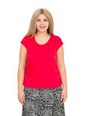 Блузка BALSAKO. Цвет: красный