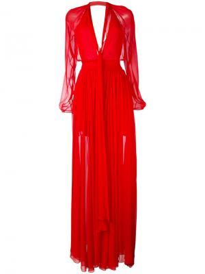 Платье Monne La Mania. Цвет: красный