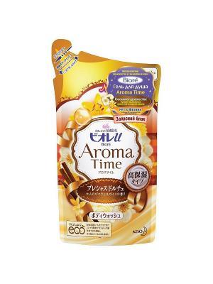 Гель для душа AROMA TIME Изысканное Удовольствие Запасной блок, 360мл Biore. Цвет: прозрачный