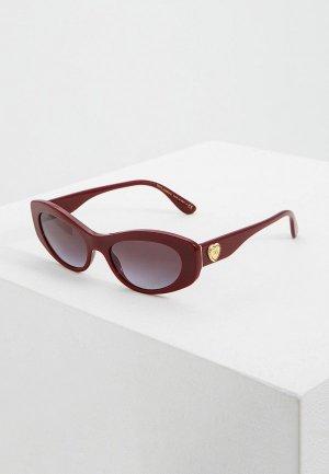 Очки солнцезащитные Dolce&Gabbana DG4360 30918G. Цвет: красный
