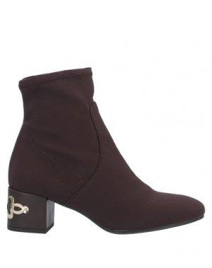 Полусапоги и высокие ботинки PEDRO MIRALLES. Цвет: темно-коричневый