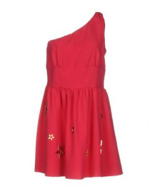 Короткое платье DENNY ROSE. Цвет: фуксия
