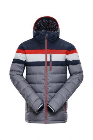 Jacket Ski Alpine Pro. Цвет: gray, blue, red