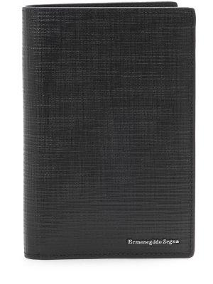 Обложка для документов кожаная ERMENEGILDO ZEGNA