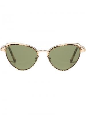 Плоские солнцезащитные очки Monarch 23 L.G.R. Цвет: золотистый