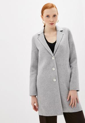 Пальто Banana Republic. Цвет: серый