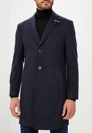 Пальто Baldessarini. Цвет: синий