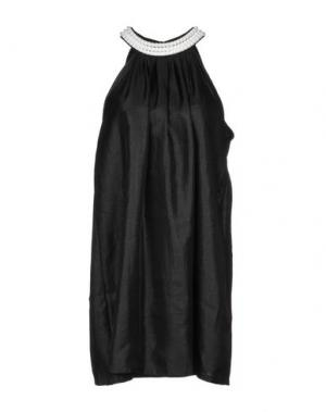 Короткое платье TANTRA. Цвет: черный