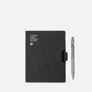 Записная книжка Caran dAche Office A6 Line 192 pgs d'Ache. Цвет: чёрный