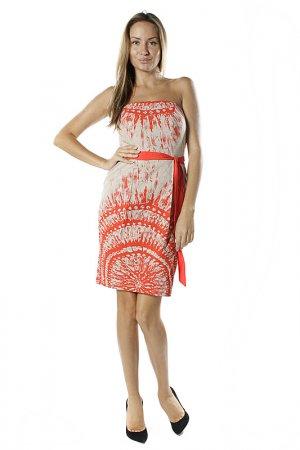 Платье Eva Franco. Цвет: красный