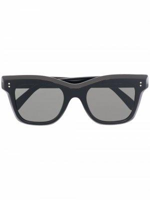 Солнцезащитные очки Vita Retrosuperfuture. Цвет: черный