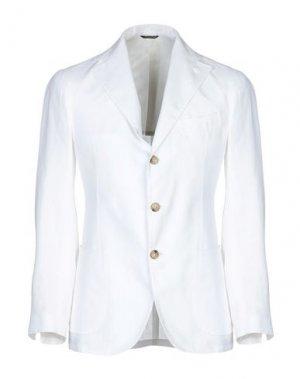 Пиджак GABO Napoli. Цвет: белый