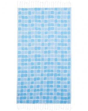 Пляжное полотенце HAMMAMAS. Цвет: лазурный