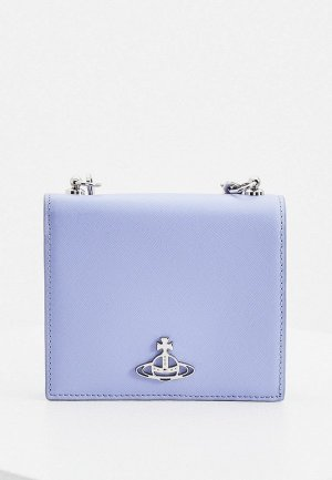 Клатч Vivienne Westwood -кошелек. Цвет: голубой