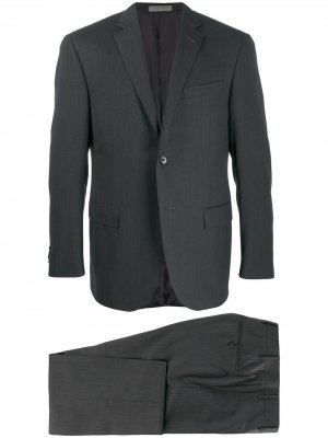 Строгий костюм Corneliani. Цвет: серый