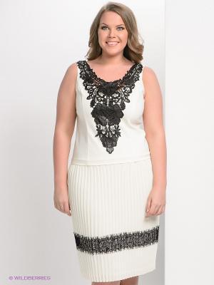 Платье Giani F. Цвет: молочный