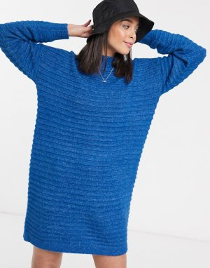 Темно-синее платье-джемпер -Темно-синий Kaffe