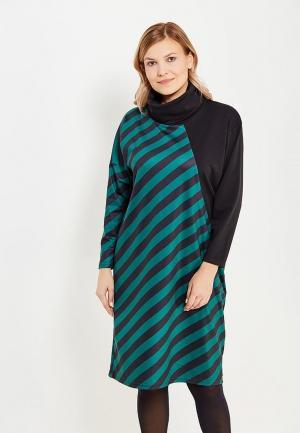 Платье Chic de Femme. Цвет: зеленый