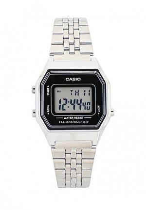 Часы Casio Collection LA680WEA-1E. Цвет: серебряный