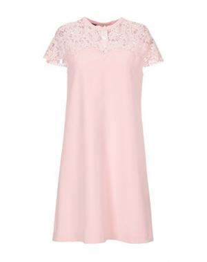 Короткое платье BLACK LABEL. Цвет: розовый