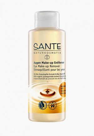 Средство для снятия макияжа Sante. Цвет: прозрачный
