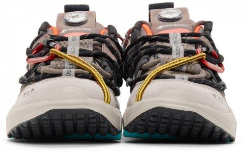 Beige Titan GTX Sneakers Li-Ning. Цвет: beige
