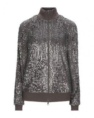 Куртка MANILA GRACE. Цвет: коричневый