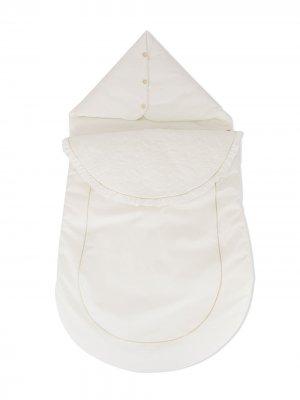 Пуховый спальный мешок Tartine Et Chocolat. Цвет: белый