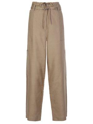 Шелковые брюки CELINE