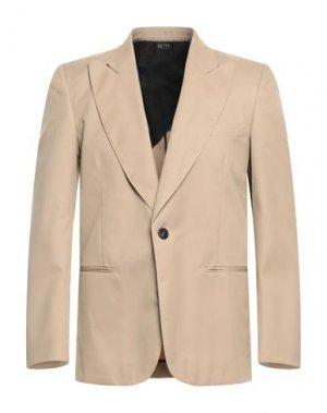 Пиджак N°21. Цвет: песочный