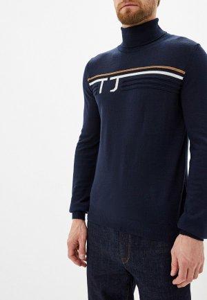 Водолазка Trussardi Jeans. Цвет: синий