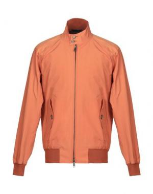 Куртка BARACUTA. Цвет: оранжевый