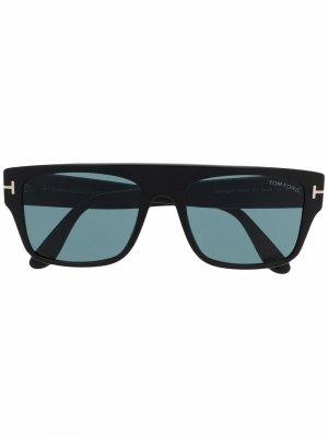 Солнцезащитные очки Dunning в прямоугольной оправе TOM FORD Eyewear. Цвет: черный