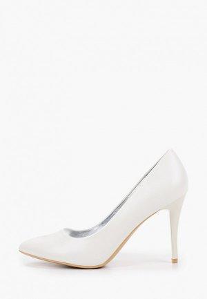 Туфли Betsy. Цвет: белый