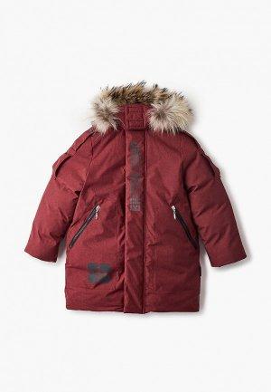 Куртка утепленная АксАрт. Цвет: бордовый